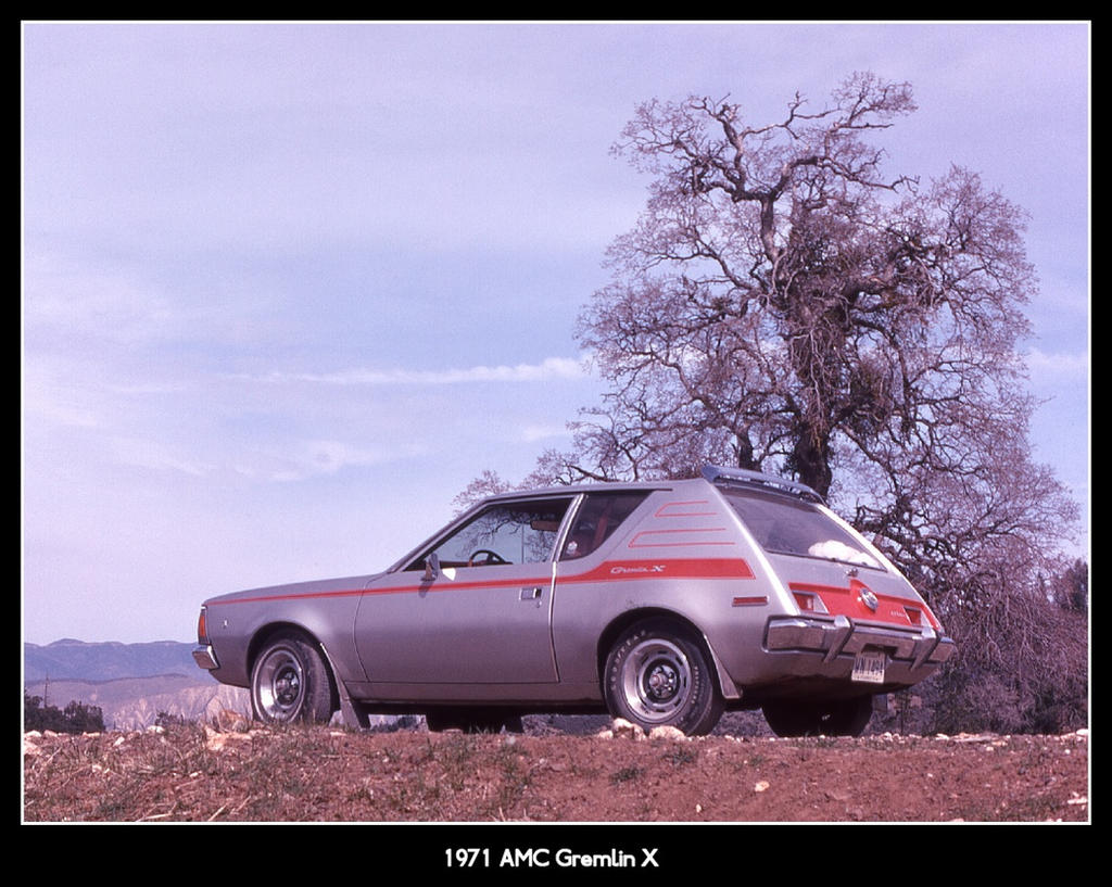 1971 AMC Gremlin X by irrational1