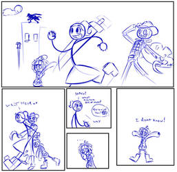 doodle comic by Maditox