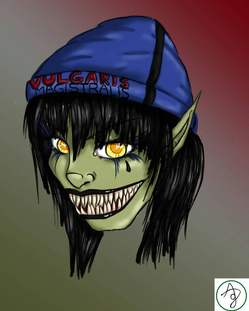 Feamle goblin (tribute to heidevolk) by 0LYA0