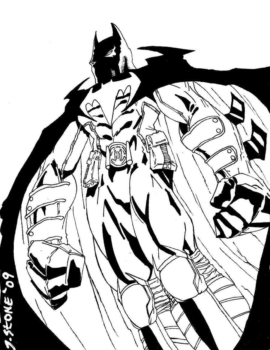 the dark knight batman redux by jamesleestone on deviantart