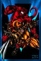 Hellboy n Logan Guile n Me 2.5 by JamesLeeStone