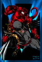 Hellboy n Logan Guile n Me 3.0 by JamesLeeStone