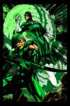 Green Arrow Lantern Jim Lee-ME