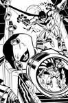 Batman Deathstroke by Scott McDaniel my INKS