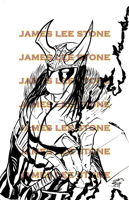 Loki Deadpool Print by JamesLeeStone