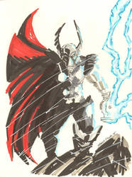 Beta Ray Bill by JamesLeeStone
