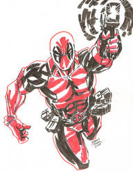Deadpool by JamesLeeStone