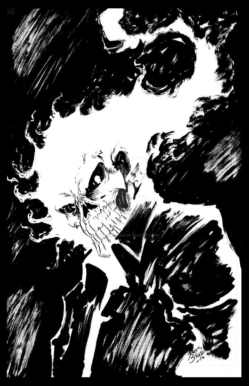 Ghost Rider by JamesLeeStone