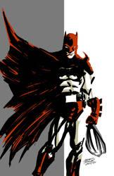 The Batman in Scarlett