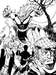 Demon Etrigan #drawnimo