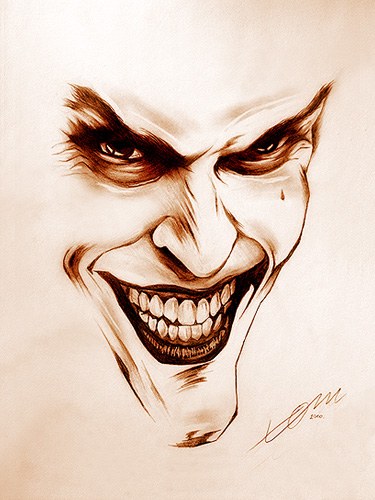 Joker Face By Clickroom