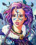 Winter Warrior by shellz-art