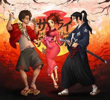 Samurai Champloo (Youtube!) by shellz-art