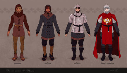 Militia Concepts (Male) by shellz-art