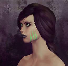 Leaenna 3D Concept by shellz-art