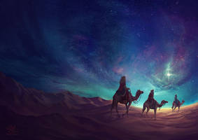 The Three Wise Men by shellz-art
