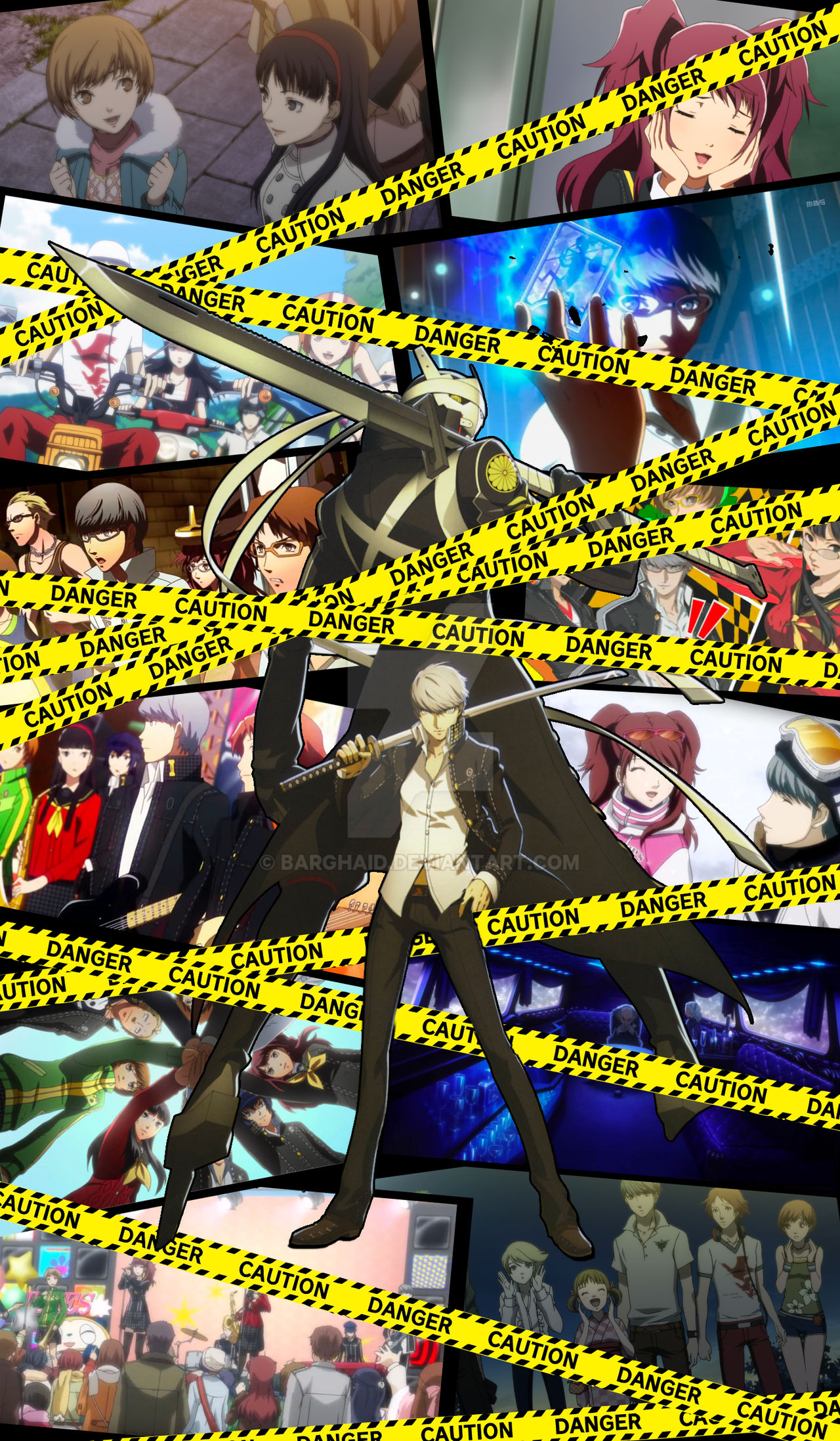 Persona 4 Golden Wallpaper Smartphone By Barghaid On