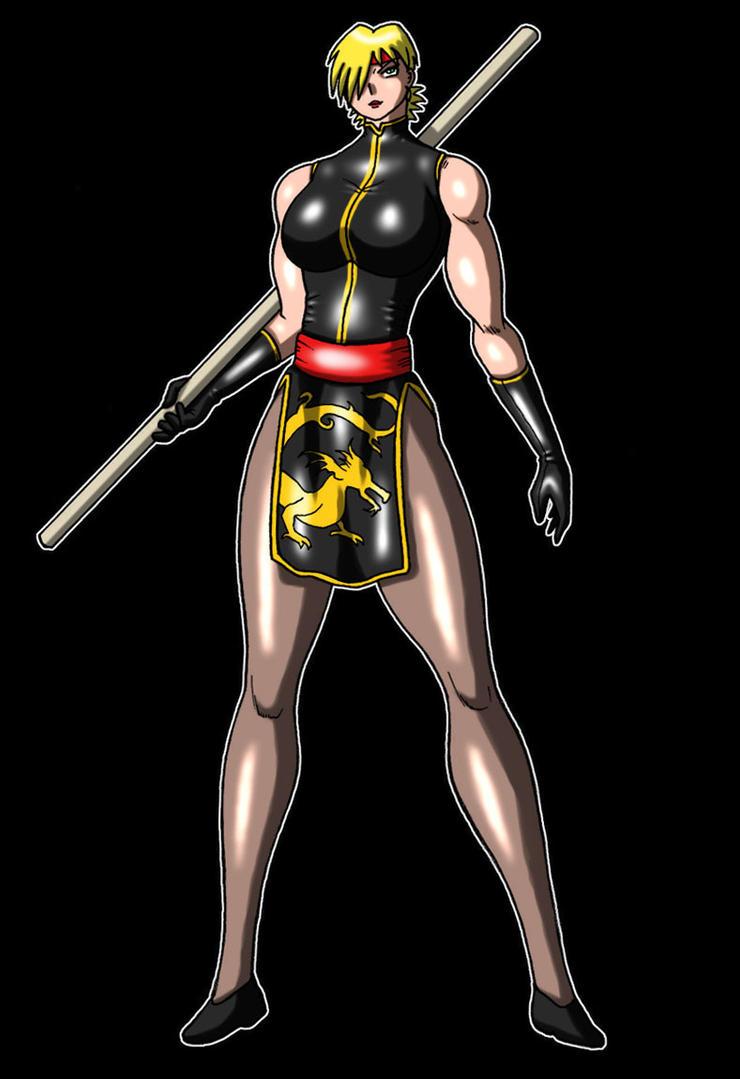 Missy as a martial artist by yamazaki42