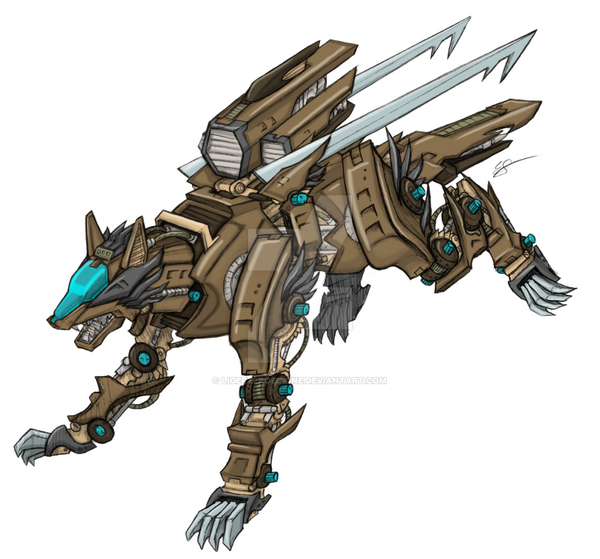 GZ Custom: E. Coyote by LigerZeroElaine