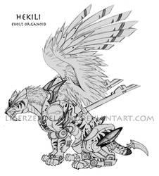 Generation Zi RPG - Hekili by LigerZeroElaine