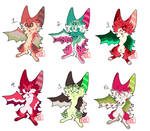 #4 Points Adoptables - Fruit Bats |CLOSED