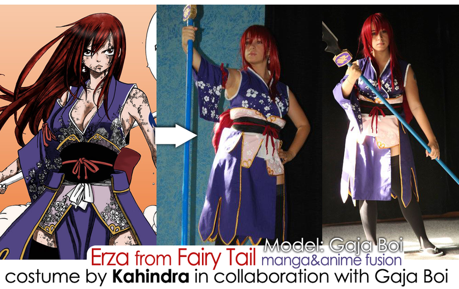Fairy Tail Erza Cosplay Costumes Cosmaking Erza From Fairy Tail