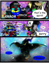Undertale: entering the void page 20 by ArtRobyn98