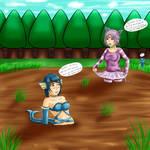 Sinking in the Great Marsh (Pokemon Month)