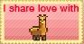 I Share Love With Llamas by Tenshi-mai