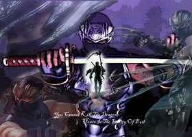 Ninja Gaiden 2 - Ryu Wallpaper by ShadowVanguard