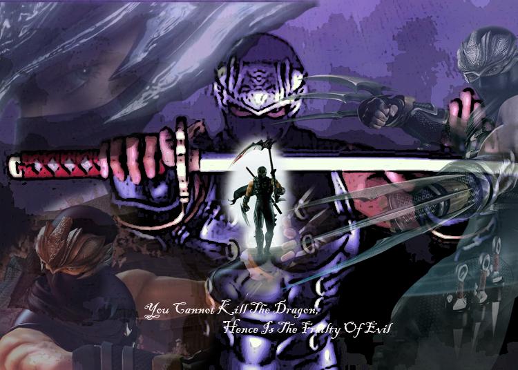 Ninja Gaiden 2 Ryu Wallpaper By Shadowvanguard On Deviantart