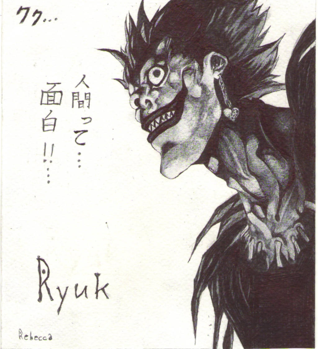 Ryuk, shinigami from Death Note by Shinigami-uta