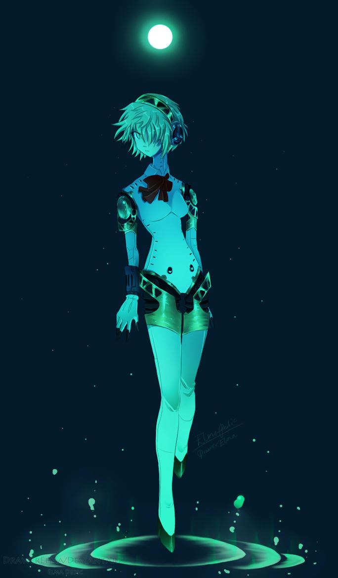 Persona 3 FES - Aigis/Aegis by NemiruTami