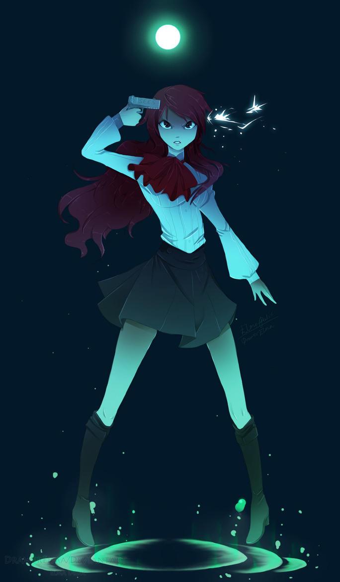 Persona 3 FES - Mitsuru Kirijo by NemiruTami