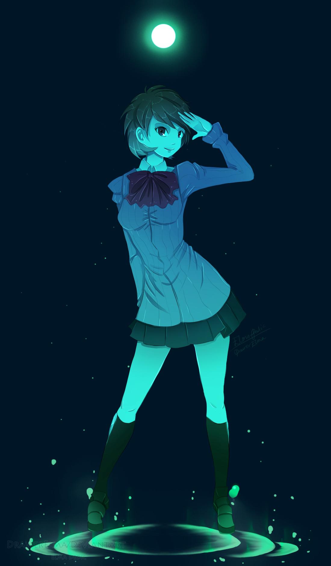 Persona 3 FES - Yukari Takeba by NemiruTami