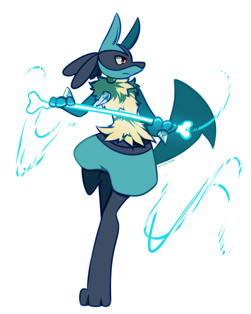 Pokemon Lucario Doodle 564181583