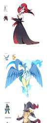 Pokemon Fusions Collection by NemiruTami