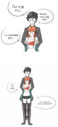 Persona 5: Siblings by NemiruTami