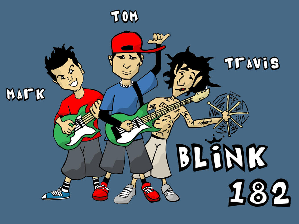 BLINK 182 THE COLOUR by styxe