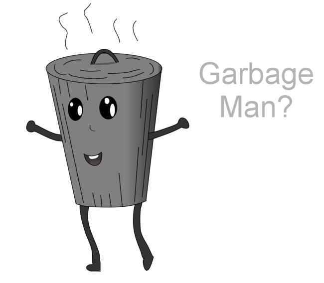 Garbage Man? by DylanSeto