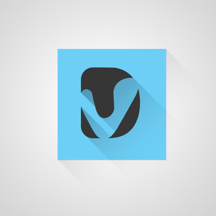 veeradesigns-Flat_LongShadows-Logo by veeradesigns