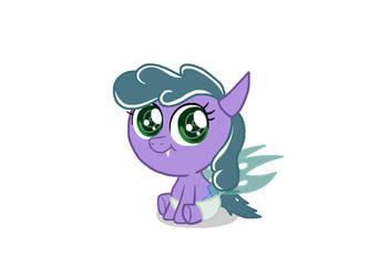 granddaughter of Discord: Princess Fluffball by SkyfallerArt
