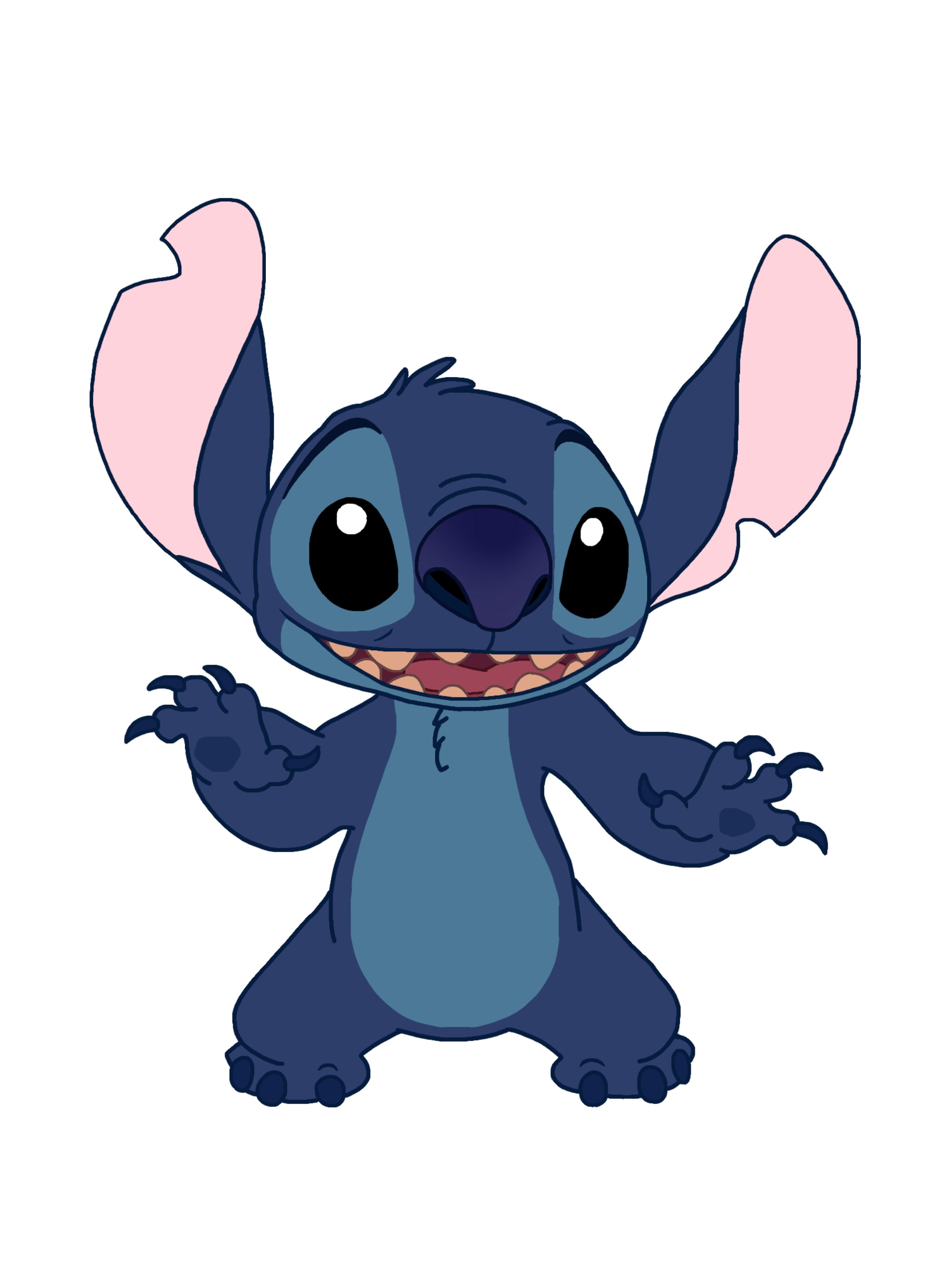 It's just a graphic of Superb Pics of Lilo and Stitch