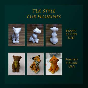 TLK Cub Figurines for SALE!! by Leorgathar