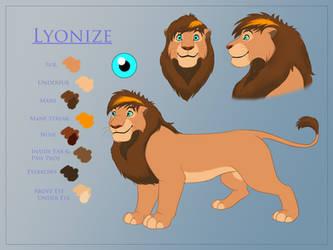 Lyonize Ref Sheet Commission by Leorgathar