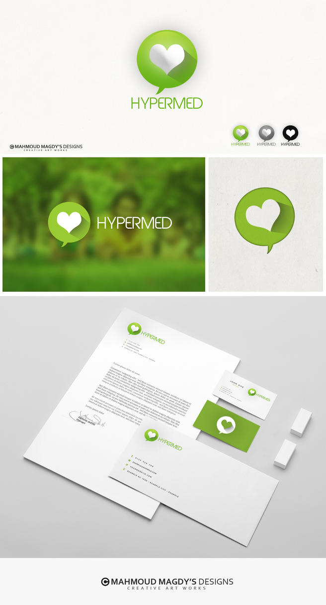 Hypermed logo by 7oooda