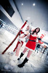 Nidalee and Miss Fortune Cosplay (2) by Dehziki