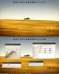 Ubuntu light by Mloodszy