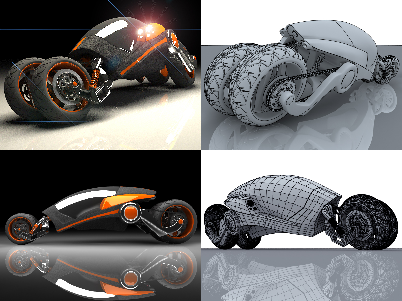 vehicle concept by blendedhead