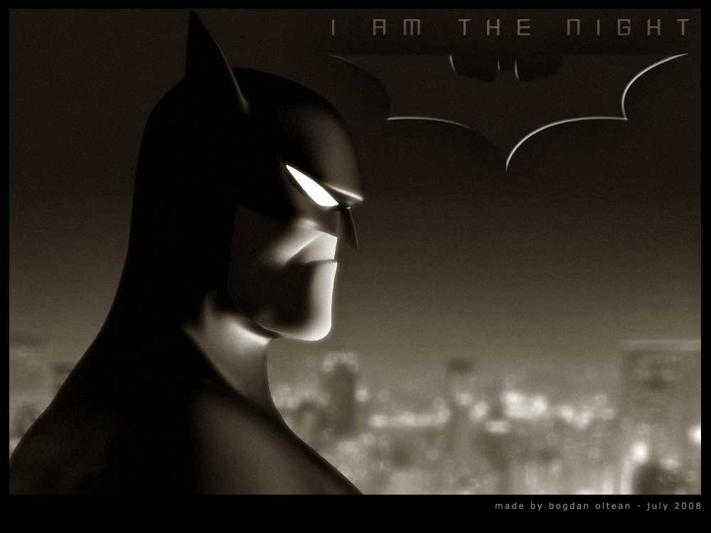 I Am The Night by blendedhead